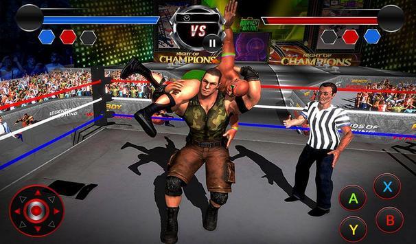 Wrestling Stars Revolution: Cage Free Death Match screenshot 8