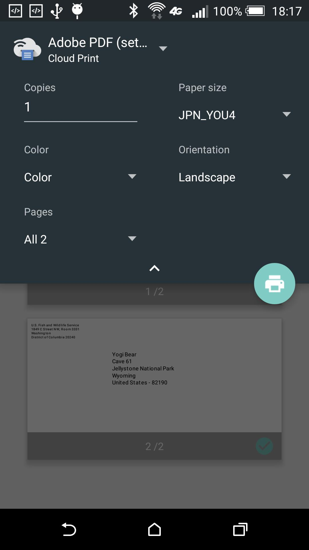 Phone Address-Book to Envelope for Android - APK Download