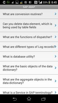 SAP Adv Bus App Prog (ABAP) apk screenshot