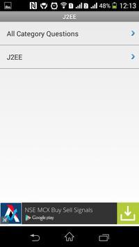 J2EE Interview Q&A apk screenshot