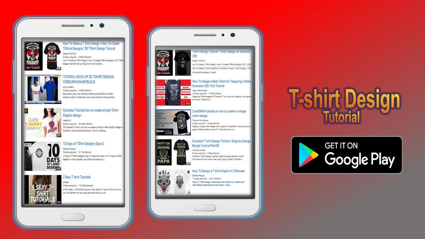 T Shirt Design Tutorial For Android Apk Download