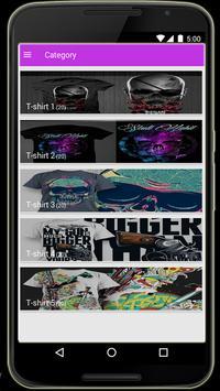 T-shirt - T-shirt Design screenshot 10