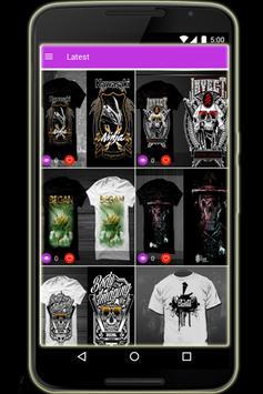 T-shirt - T-shirt Design screenshot 4