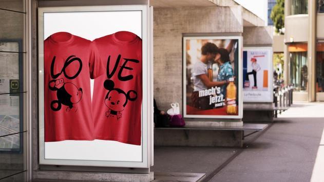 400+ T Shirt Design Couple screenshot 5