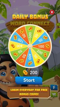 Word Connect - Stone Age screenshot 1