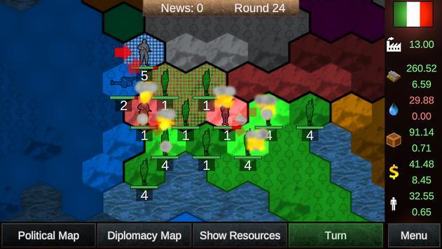 Nations in Combat Lite screenshot 1