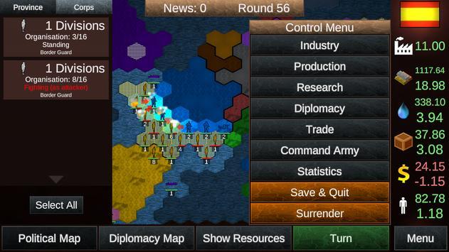 Nations in Combat Lite screenshot 2