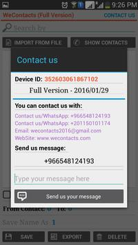 WeContacts screenshot 4