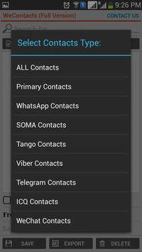 WeContacts screenshot 3