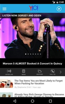 Y101 - Today's Best Music - Quincy/Hannibal (KRRY) apk screenshot