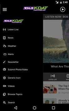 104.5 KDAT - Today's Best Mix - Cedar Rapids apk screenshot