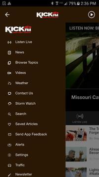 97.9 KICK FM Today's Best Country Quincy/Hannibal apk screenshot
