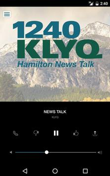 1240 KLYQ - Hamilton News Talk apk screenshot