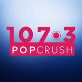 107.3 PopCrush - Lawton's #1 Hit Music KVRW icon