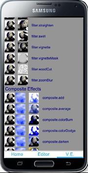 Visual Effect Editor screenshot 1