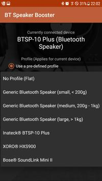 Bluetooth Speaker Booster apk screenshot