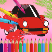 Cars - Coloring Pages for Kids icon