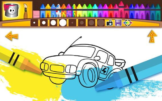 Cars - Coloring Pages for Kids poster