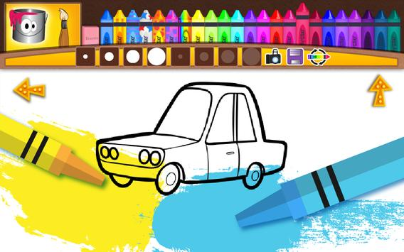 Cars - Coloring Pages for Kids screenshot 1