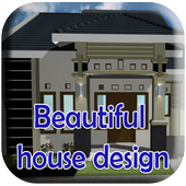 Beautiful house design 4D icon