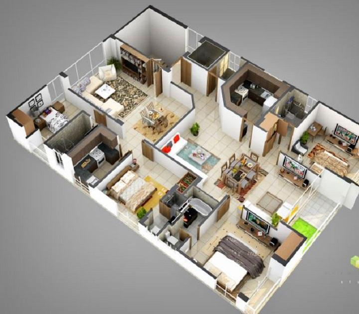 Beautiful House Design 4d For Android Apk Download