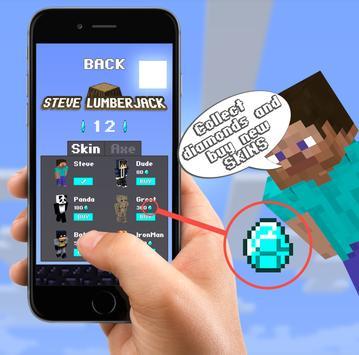 Steve Lumberjack screenshot 1