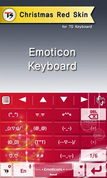 Christmas red for TS keyboard screenshot 3