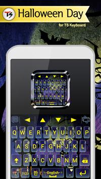 Halloween Day Skin for TS Keyboard poster