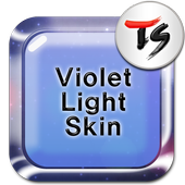 Violet light for TS Keyboard icon