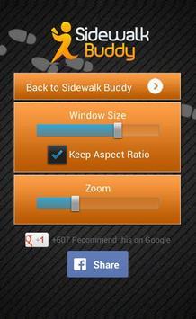 Sidewalk Buddy تصوير الشاشة 5