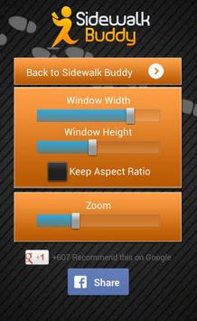 Sidewalk Buddy تصوير الشاشة 6