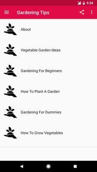 Gardening Tips screenshot 1