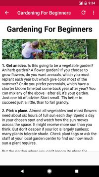 Gardening Tips screenshot 5