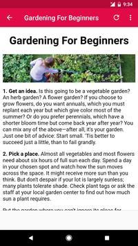 Gardening Tips screenshot 8