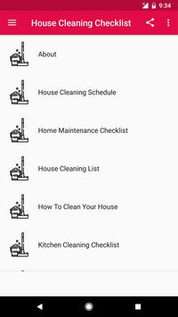 House Cleaning Checklist screenshot 1