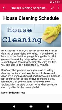 House Cleaning Checklist screenshot 2