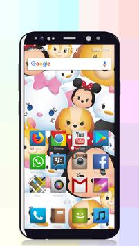 Tsum Tsum Wallpaper screenshot 1