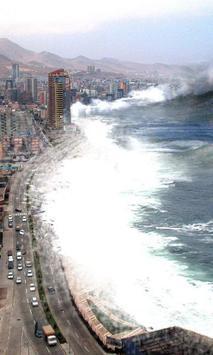 Tsunami Wallpaper screenshot 1