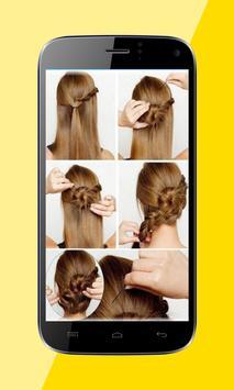 Beautiful Hairstyles by Step apk screenshot