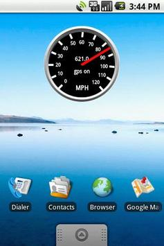 Speedometer Gauge poster