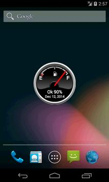Battery Level Petrol Gauge poster