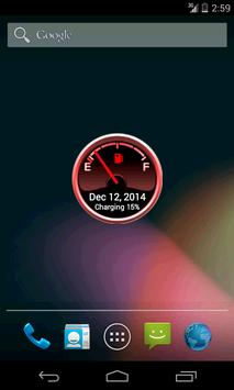 Battery Level Petrol Gauge apk screenshot