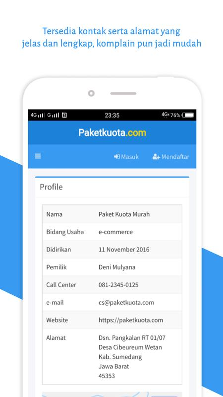 Paket Kuota Murah Fur Android Apk Herunterladen