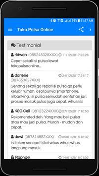 Toko Pulsa Online Lite screenshot 4