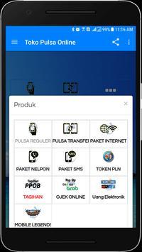 Toko Pulsa Online Lite screenshot 1
