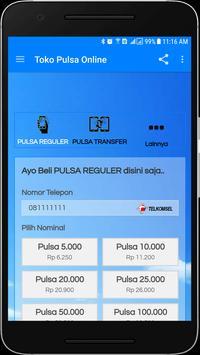 Toko Pulsa Online Lite screenshot 2