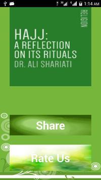 Hajj by Dr. Ali Shariati poster