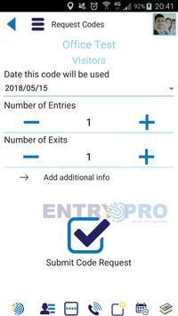 Entry Pro screenshot 2