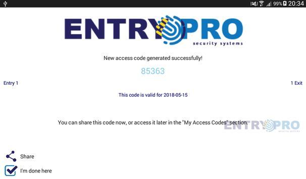 Entry Pro screenshot 9