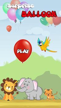 Surprise Balloon Animal Run poster
